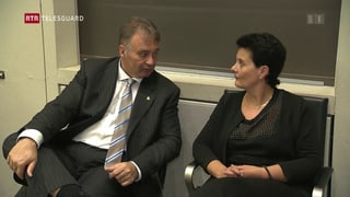 Els èn ils novs: Martin Aebli (PBD) e Tina Gartmann-Albin (PS)