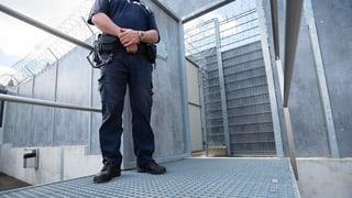 Weniger Straftäter in Gefängnisse eingewiesen
