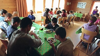 Weniger Spenden für das Kinderdorf Pestalozzi