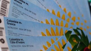 Schwarzmarkt-Tickets: Chef einer Vertragsfirma der Fifa verhaftet