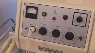 Zwangsjacken, Schockkuren, Stromstösse und Psychopharmaka