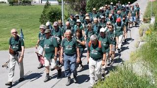 «Marsch nach Meiringen»: Ziel erreicht!