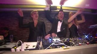 «It's my party»: Freymond, Epiney und Rigozzi lassen es krachen
