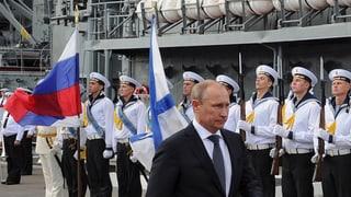 Russland baut eine zweite Basis am Schwarzen Meer