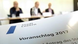 Stadt Luzern: Verhaltene Freude über Finanz-Aussichten