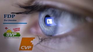 Wie uns Parteien ungefragt an Facebook verraten