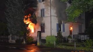Zwei Tote und sieben Verletzte nach Hausbrand in Sursee