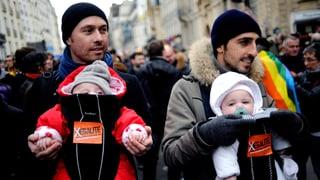 Homosexuelle Paare sollen Stiefkinder adoptieren dürfen