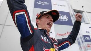 Verstappen wird jüngster Formel-1-Pilot der Geschichte