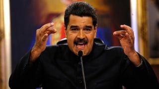 Maduro empört über Sanktionen aus den USA