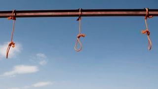 Todesstrafe als Waffe gegen Terroristen und politische Gegner