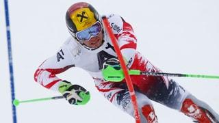 So lief der Slalom in Kitzbühel