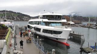 Unglücksdampfer wieder im sicheren Hafen