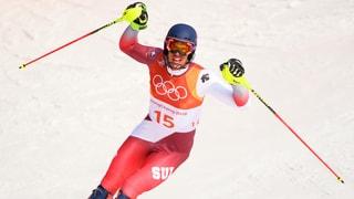 Sensation: Zenhäusern gewinnt Slalom-Silber