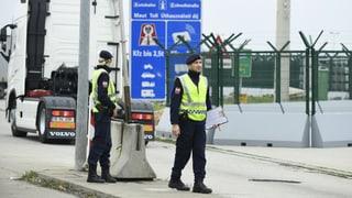 Grenzkontrollen im Schengen-Raum werden verlängert