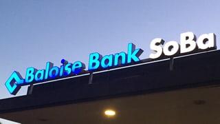 Dank tiefen Zinsen mehr Gewinn bei der Baloise Bank Soba