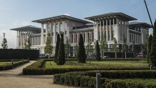 Erdogans «Weisser Palast» ist ein Schwarzbau