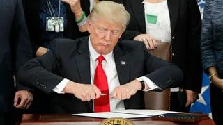 Trump ordnet Bau der Grenzmauer zu Mexiko an