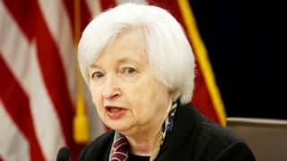 Fed-Chefin Yellen hält Tür für Zinserhöhung offen