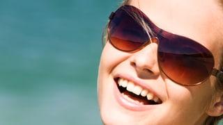Die Augen gut vor Sonne schützen