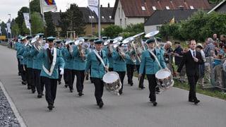 Luzerner Blasmusik an Vereidigung der Schweizergarde