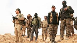IS-Kämpfer bei Rakka eingekesselt