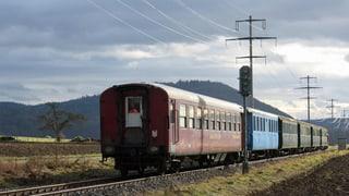 Schaffhauser Bahnwagen bleiben auf dem Abstellgleis