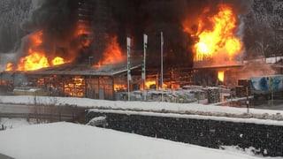 Grosser Sachschaden in Thusis