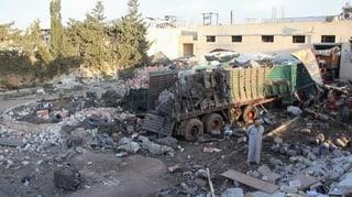 UNO stoppt Hilfslieferungen in Syrien