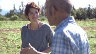 Video «Bioland Schweiz – Kathrin Winzenried bei den Öko-Pionieren» abspielen