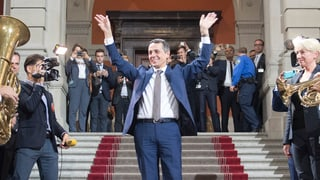 Sechs Initiativen und ein neuer Bundesrat
