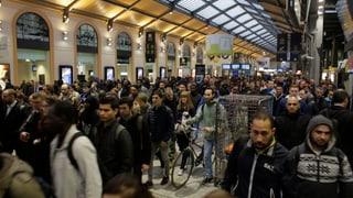 In Frankreich stehen die Züge kurz vor der EM still