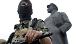 Separatisten-Hochburg Donezk verkündet Waffenruhe