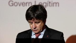 Puigdemont hat die Qual der Wahl
