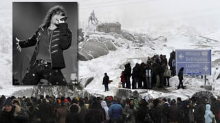 Bewegende Gedenkfeier für Steve Lee auf dem Gotthard