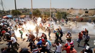 «Lage in Jerusalem wird sich nicht so bald beruhigen»