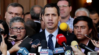 Juan Guaidó na po betg pli bandunar pajais