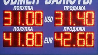 Russische Zentralbank erhöht Zinsen
