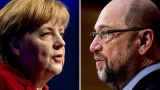 Angela Merkel u Martin Schulz? I para clerischem