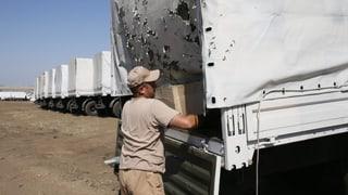 Ukraine anerkennt russische Hilfslieferung