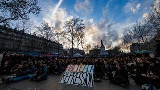 Frankreichs Jugend übt Basisdemokratie in Paris