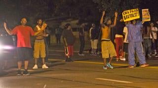Proteste nach Tod eines jungen Schwarzen in Missouri