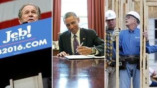 Was machen eigentlich die ehemaligen US-Präsidenten?