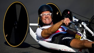 Heinz Frei mit WM-Gold im Zeitfahren