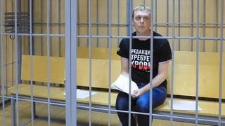 Russischer Journalist Golunow kommt frei