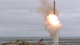 US-Militär testet Mittelstrecken-Rakete