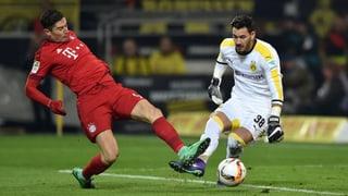 Keine Tore im Spitzenspiel – Bayern bleiben 5 Punkte vorne