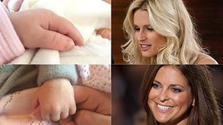 Hunziker und Madeleine: Ein Händchen für Baby-Fotos