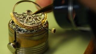 Die Krise der Uhrenindustrie