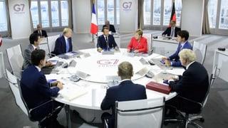 G7 – die Scheineinigen